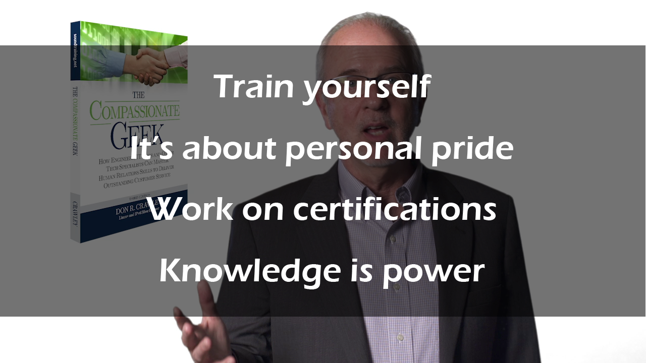 what to do when your company won't provide training